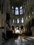 Центральная нефа собора Парижской Богоматери