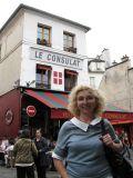 В этом кафе на Монмартре встречались многие художники-импрессионисты