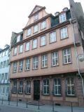 Дом, в которым родился великий немецкий поэт Гете