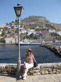 Набережная порта острова Aegina