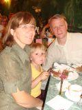 Александр Соловьёв с семьёй