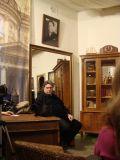 А.Сокольский - ведущий вечеров в гостинной булгаковского дома